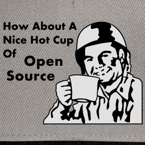 How About A Nice Hot Cup Of OPEN SOURCE Borse - Snapback Cap