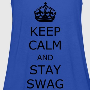 Keep calm and stay swag - Women's Tank Top by Bella