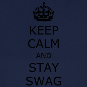 Keep calm and stay swag - Czapka z daszkiem