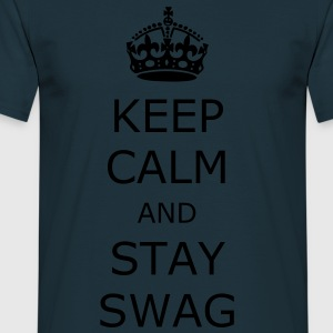 Keep calm and stay swag - Koszulka męska