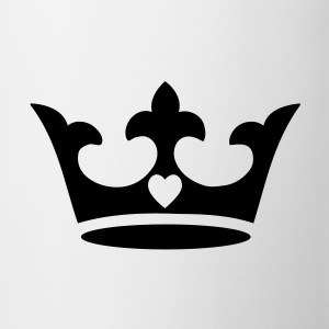 crown, heart T-Shirts - Mug
