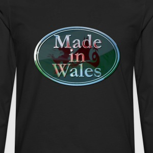 Wales Made in Wales - Men's Premium Longsleeve Shirt