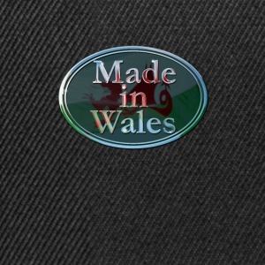 Wales Made in Wales - Snapback Cap