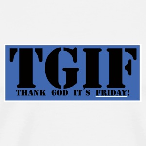 Thank god its friday - Premium-T-shirt herr