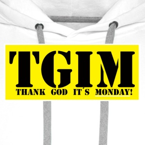 Thank god its monday - Premiumluvtröja herr