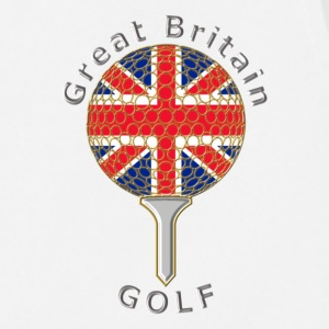 great britain union jack golf logo Polo Shirts - Cooking Apron