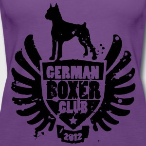 GERMAN BOXER CLUB 2012 Sweaters - Vrouwen Premium tank top