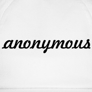 anonymous ! Tee shirts - Casquette classique