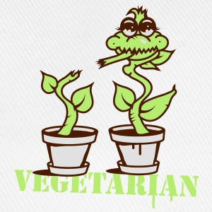 A carnivorous plant  as a vegetarian or cannibal Mugs  - Baseball Cap