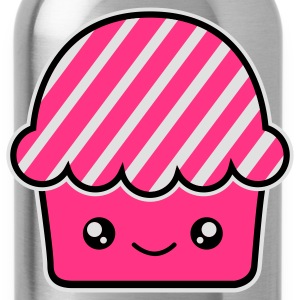 Kawaii cupcake (fairy cake) muffin Underwear - Water Bottle