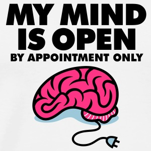 My Mind Is Open 3 (3c)++ Tröjor - Premium-T-shirt herr