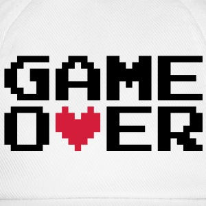 Game over | Heart | Herz | Love | Liebe T-Shirts - Basebollkeps