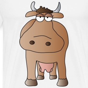 Cow Mugs  - Men's Premium T-Shirt