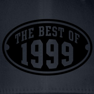THE BEST OF 1999 - Birthday Anniversary T-Shirt YN - Flexfit Baseball Cap