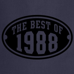 THE BEST OF 1988 - Birthday Anniversary T-Shirt YN - Cooking Apron