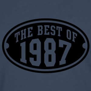 THE BEST OF 1987 - Birthday Anniversary T-Shirt YN - Men's Premium Longsleeve Shirt