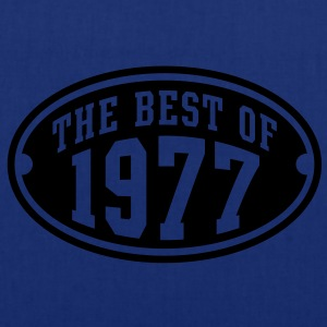 THE BEST OF 1977 - Birthday Anniversary T-Shirt YN - Tote Bag