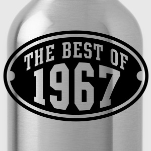 THE BEST OF 1967 - Birthday Geburtstag T-Shirt YN - Trinkflasche
