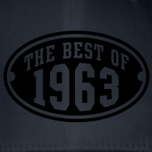 THE BEST OF 1963 - Birthday Anniversary T-Shirt YN - Flexfit Baseball Cap