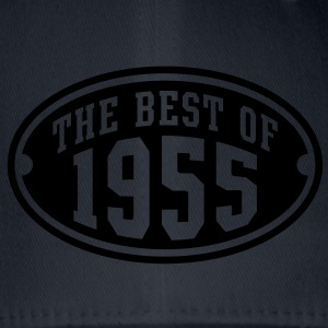 THE BEST OF 1955 - Birthday Anniversary T-Shirt YN - Flexfit Baseball Cap