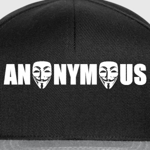 anonymous Tee shirts - Gorra Snapback