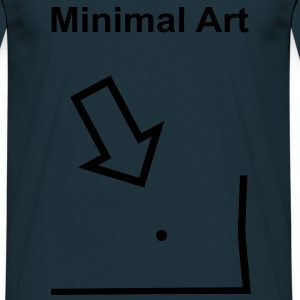 Minimal Art - T-skjorte for menn