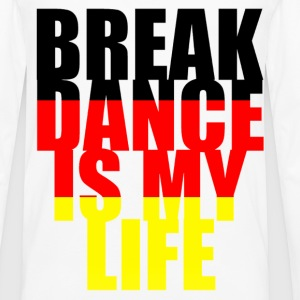 break dance is my life allemagne Shirts - Men's Premium Longsleeve Shirt