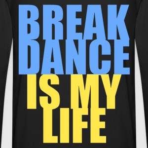 break dance is my life ukraine Hoodies - Men's Premium Longsleeve Shirt