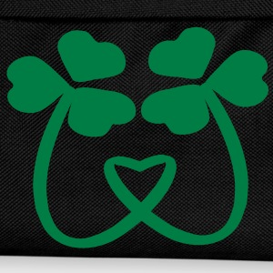 Shamrock Lucky charm art Umbrella small - Kids' Backpack