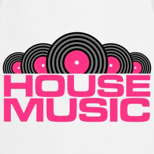 House Music V3 T-shirts - Förkläde