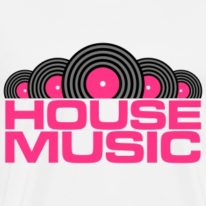 House Music V3 Kinder sweaters - Mannen Premium T-shirt