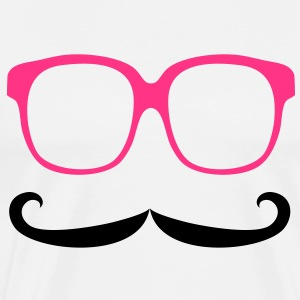 Moustache & Glasses Sweats Enfants - T-shirt Premium Homme