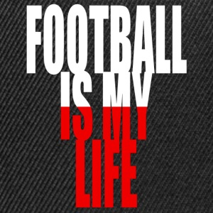 football is my life pologne Tee shirts - Casquette snapback