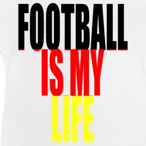 football is my life allemagne Tee shirts Enfants - T-shirt Bébé
