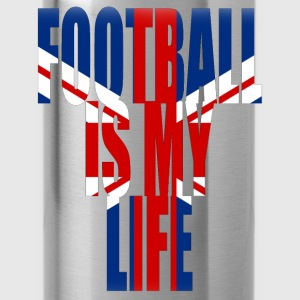 football is my life angleterre Tee shirts Enfants - Gourde