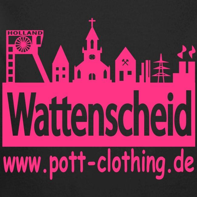 Skyline Wattenscheid by Ruhrpott Clothing - Frauen Kapuzenpulli