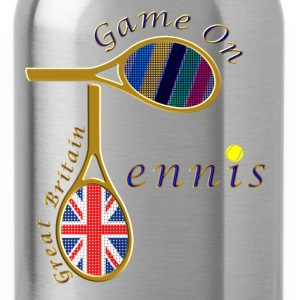 GB tennis game on design Kids' Shirts - Water Bottle