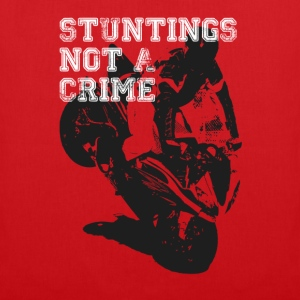 Stuntings Not A Crime T-Shirts - Tote Bag