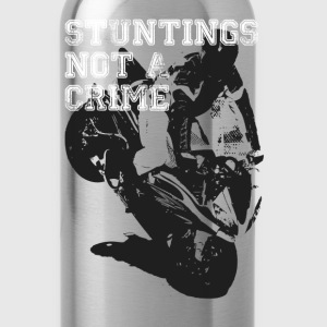 Stuntings Not A Crime T-Shirts - Water Bottle