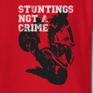 Stuntings Not A Crime T-Shirts - Baby Long Sleeve T-Shirt