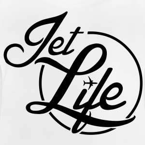 Jet Life (silver) - Baby T-shirt