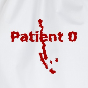 Shirt for women Zombie Apocalypse: Patient 0 - The Beginning of the End | Horror Fun Shirts - Drawstring Bag