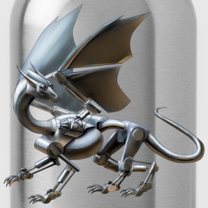 robot dragon - Water Bottle