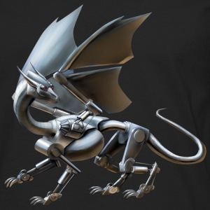 robot dragon - Men's Premium Longsleeve Shirt