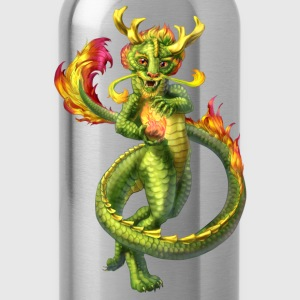 chinese anthro dragon - Water Bottle