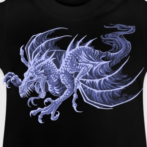 ghost dragon - Baby-T-shirt
