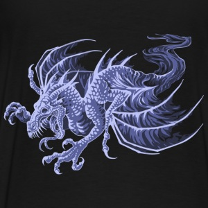 ghost dragon - Premium-T-shirt herr