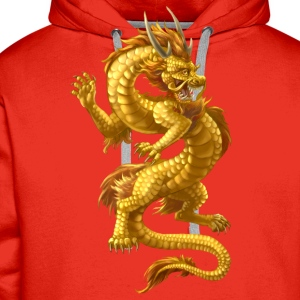 chinese dragon - Men's Premium Hoodie
