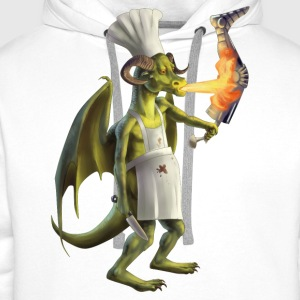 dragon cook - Men's Premium Hoodie