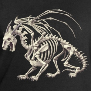 skeletal dragon - Men's Sweatshirt by Stanley & Stella